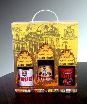 Belgian Beer Gift Box Front ...